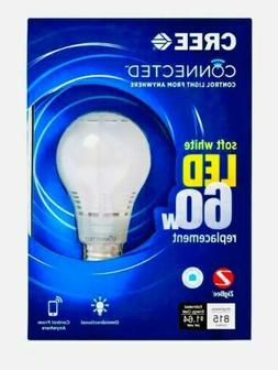 Cree Connected Smart 60W Soft White A19 Dimmable LED Light B
