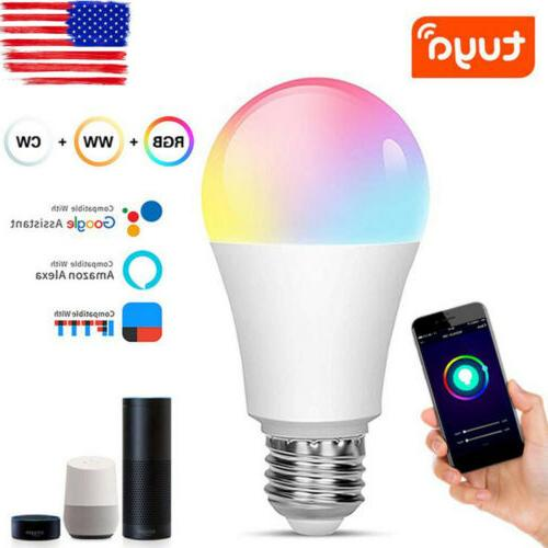 dimmable wifi smart life rgb led light
