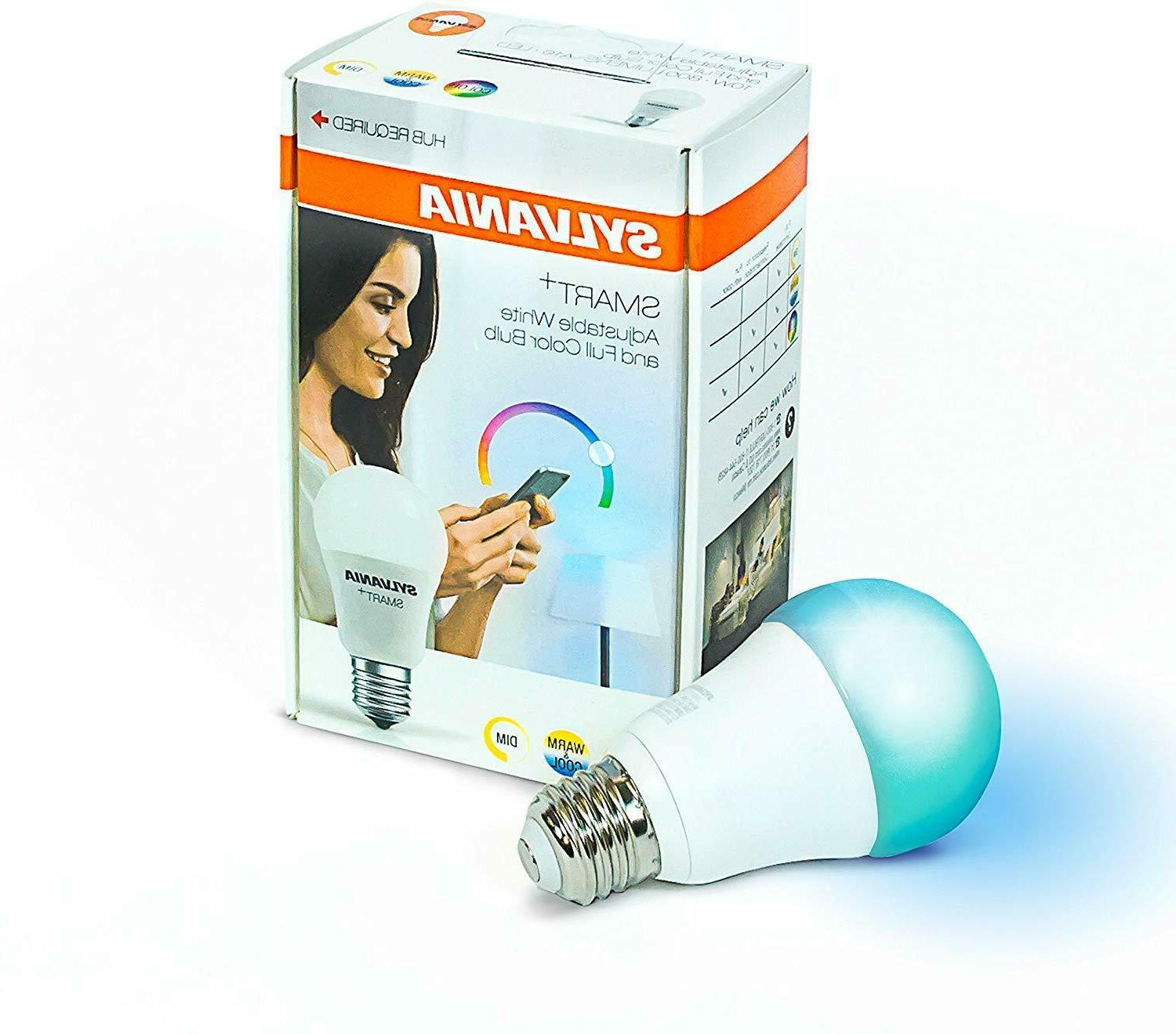 smart zigbee bulb color changing and dimmable