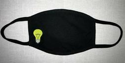 light bulb smart geek Face Mask Reusable Two Layers Soft Cot