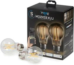 Geeni Lux 800 A19 Smart Wi-Fi LED Dimmable White Bulb - 60W