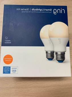 RING NEW 60-Watt Equivalent A19 Led Smart Light Bulb With Br