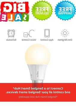 Smart Bulb that work with Alexa, Google Home ,A19-9W,1 Pack