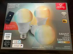 Globe Smart Electric WIFI Light Bulb White 3 Pack Dimmable -