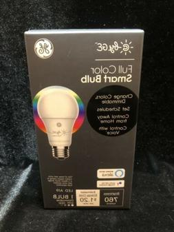 GE Smart EQ A19 Full Color Dimmable LED Light Bulb