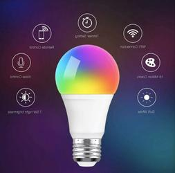 Smart Lights Led Bulb Daylight Aoycocr RGB Color Changing -