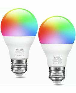 Govee Smart WiFi LED Multi Color Changing Light Bulbs 2 Pack