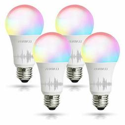 Smart WiFi Light Bulb, Led RGB Color Changing, Work with Ale