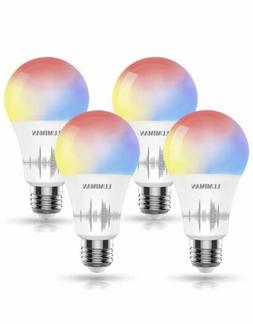 Smart WiFi Light Bulb LUMIMAN LED RGBCW Color Changing Compa