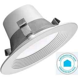 Commercial Electric T42, 4 in. Matte White Recessed Smart LE