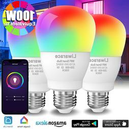 Wifi Smart Multi-Color LED Light Bulb 15W APP Dimmable For A